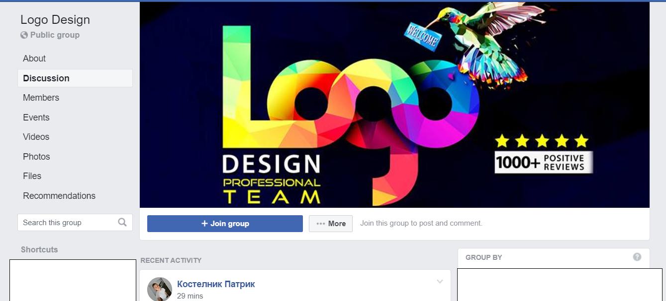 FB Logo Group